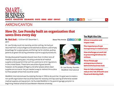 news, dr. lee ponsky
